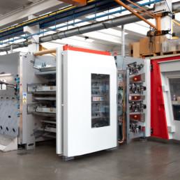 Realizzazione e montaggio di Gruppo stampa (Printing Machine)