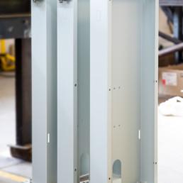 Foto barriere -Carpenteria verniciata con predisposizione elettrica