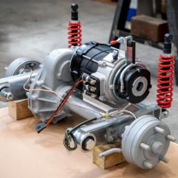 Assieme motore trasmissione differenziale per Veicolo stradale Elettrico