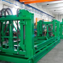 Sistema di Sollevamento removibile per Container
