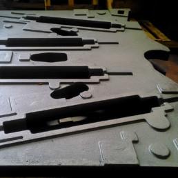 Composant pour machine à imprimer flexographique (secteur machines à imprimer)