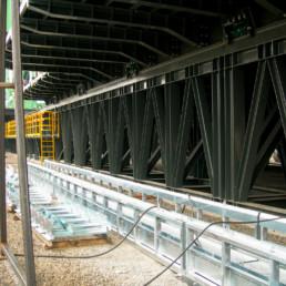 Costruzione ed Installazione Catena Portacavi su Impianto di Perforazione