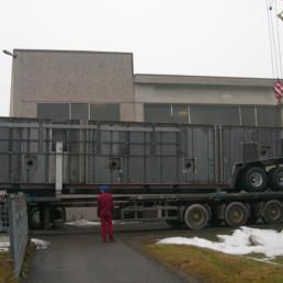 Impianto per la Filtrazione dei Fanghi di Processo