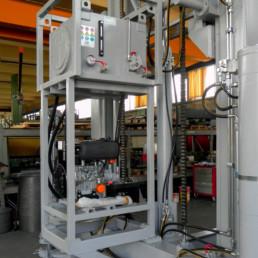 Montaggio e realizzazione di Impianto Idraulico per la gestione contemporanea di più cilindri
