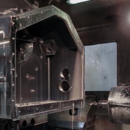 Lavorazione meccanica Componente Carter (Housing)