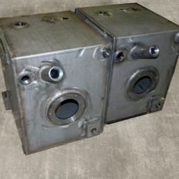 Usinage de la tôle fabrication réservoir hydraulique