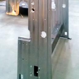 Incastellatura ( parte Printing Machine) - Telaio interno Lavorazioni meccaniche